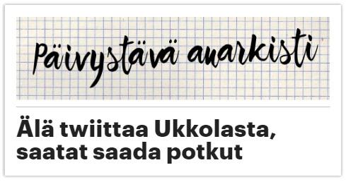 Päivystävä Anarkisti & Ukkola